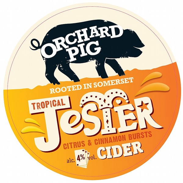 BIB Orchard Pig Tropical Jester