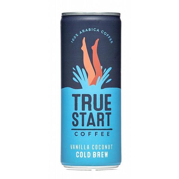 TrueStart Vanilla Coconut Cold Brew Coffee