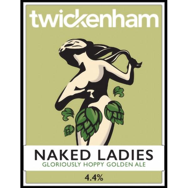 Twickenham Naked Ladies Pump Clip