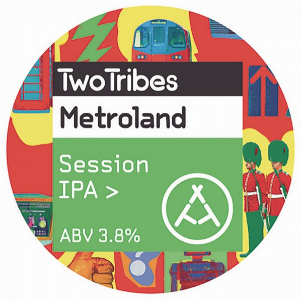 Two Tribes Metroland Session IPA