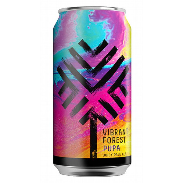 Vibrant Forest Brewing Pupa Cans