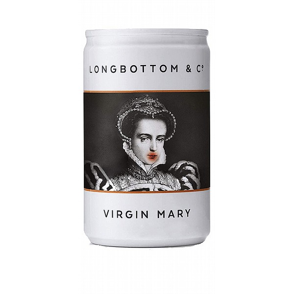 Longbottom Virgin Mary Tomato Juice Cans