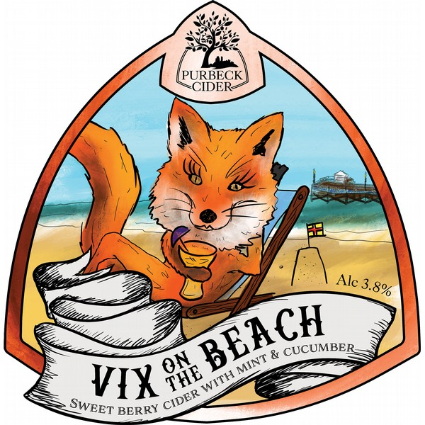 BIB Purbeck Vix on the Beach Cider
