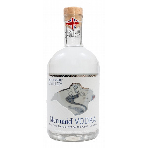 Wight Rock Mermaid Sea Vodka