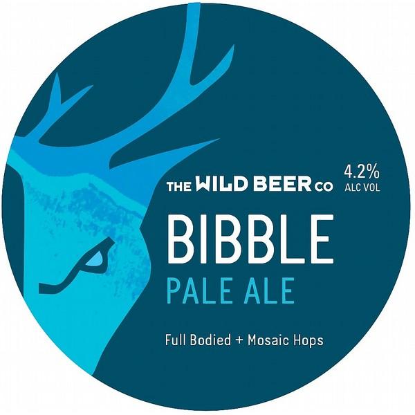 Wild Beer Co Bibble Round Flat Tap Badge