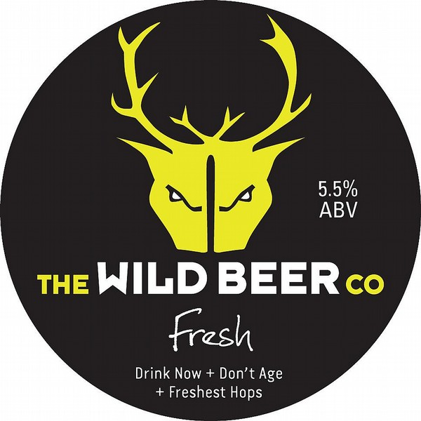 Wild Beer Co Fresh Oval Flat Tap Badge