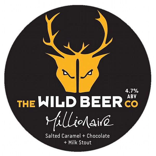 Wild Beer Millionaire Pump Clip