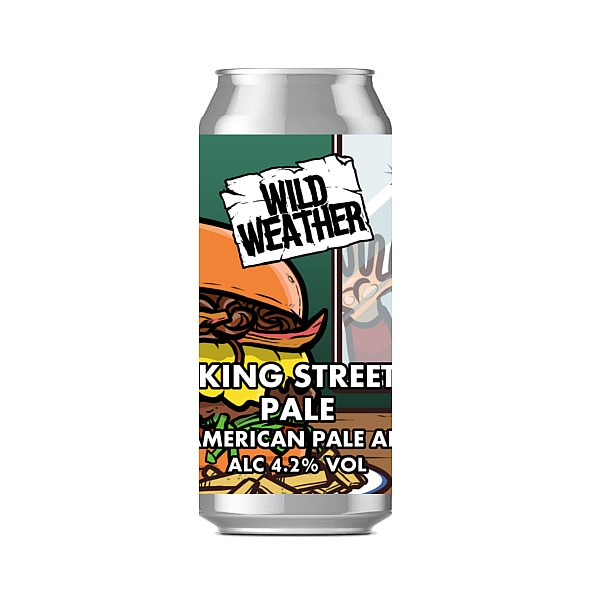 Wild Weather King Street Pale Ale Cans