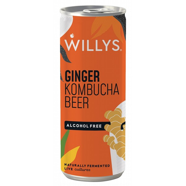 Willy's Ginger Kombucha Beer