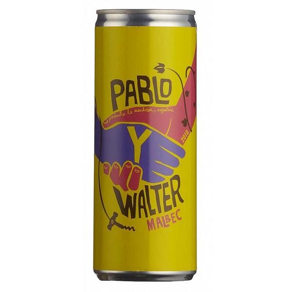 Pablo Y Walter Malbec Cans