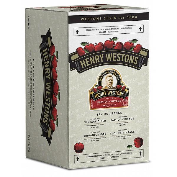 Henry Westons Famlily Vintage BIB