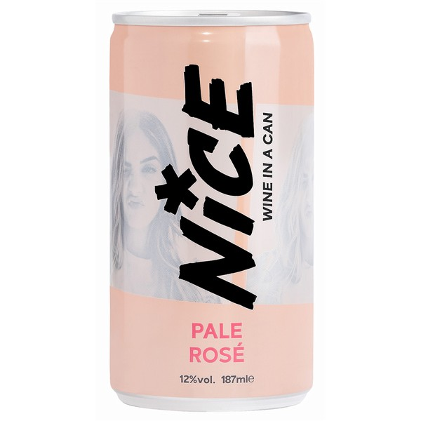 NICE Pale Rose Cans