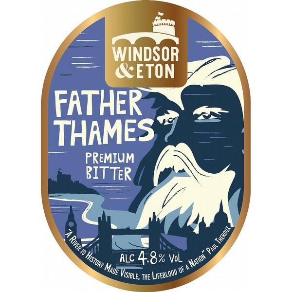 Windsor & Eton Father Thames Pump Clip