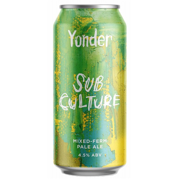 Yonder Brewing Subculture  Cans