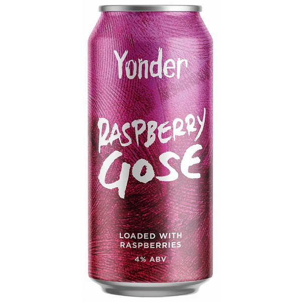 Yonder Brewing Raspberry Gose Cans