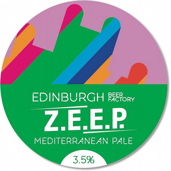 EBF Z.E.E.P Mediterranean PaleAle RndBadge