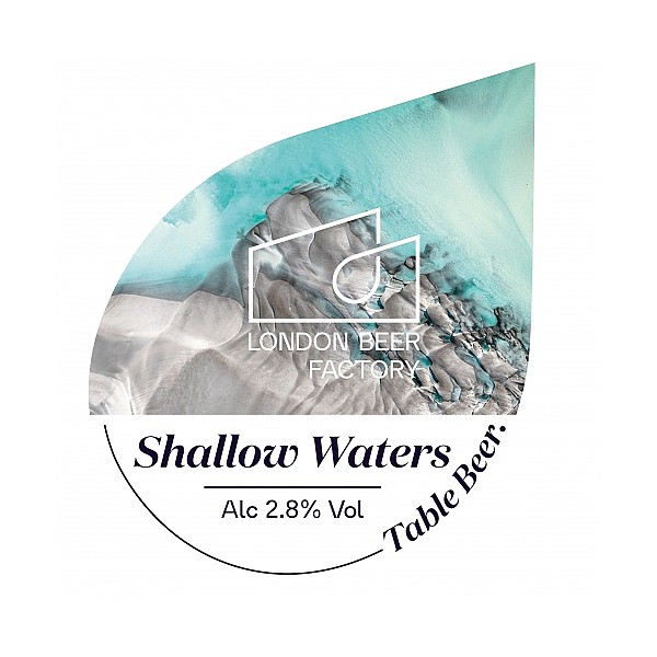 LBF Shallow Waters Oval Badge