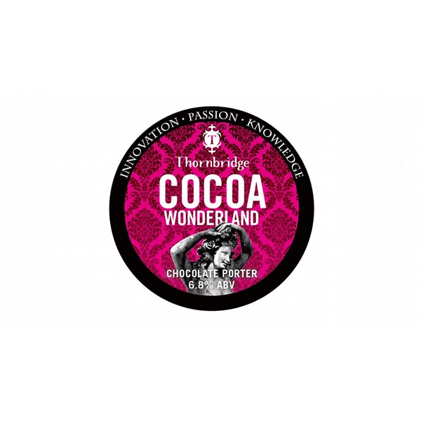 Thornbridge Cocoa Wonderland Round Badge